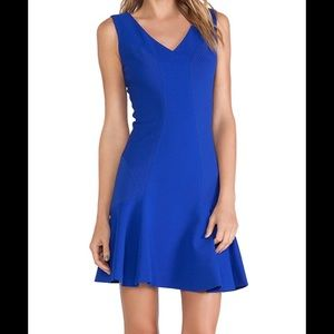 Diane von furstenberg carla blue dress 2